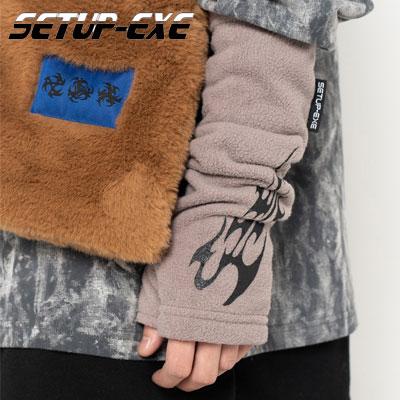 【SETUP-EXE】Fire fleece hand Warmer - beige