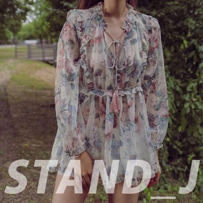 [STAND_J] ラッフルブラウス (2size)