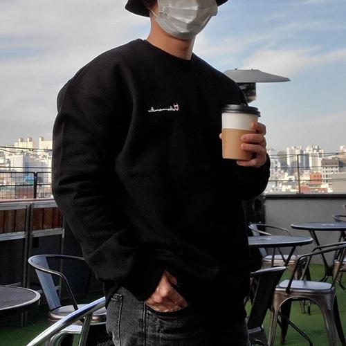 [UNISEX] レッドポイントロゴスウェットシャツ