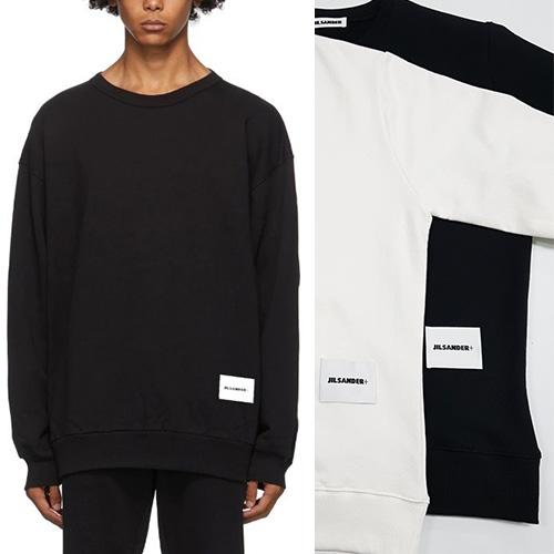 [UNISEX] ボトムパッチスウェットシャツ (2color 4size)