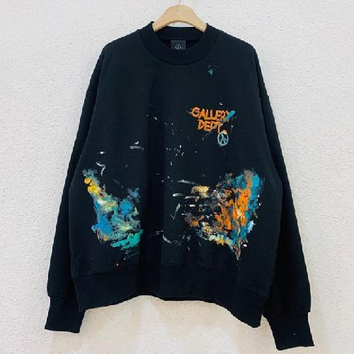 [UNISEX] デプトペイントピーススウェットシャツ