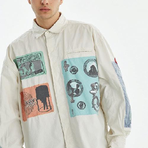 [UNISEX] マルチパッチシャツ