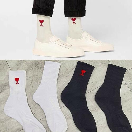 [UNISEX] ハートソックス/靴下 (2color)