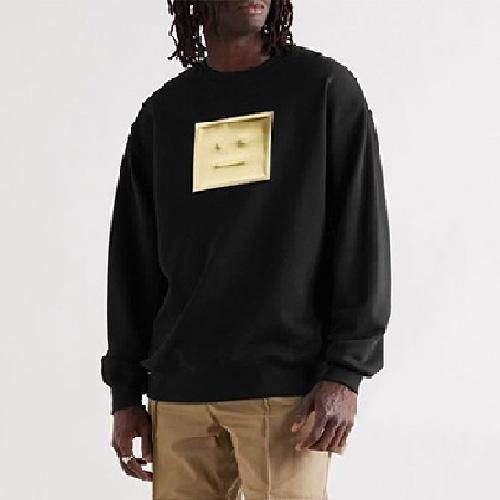 [UNISEX] メタリックフェイススウェットシャツ (4size)