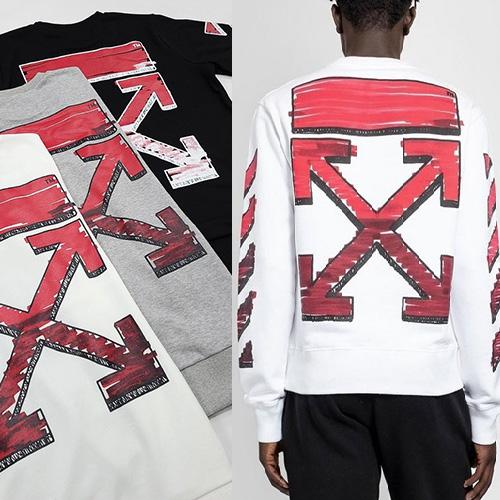 [UNISEX] レッドマーカーアロースウェットシャツ (3color 2size)