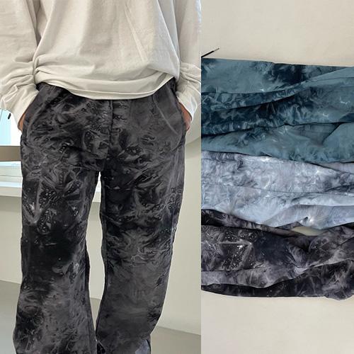 [UNISEX] タイダイトラックジョガーパンツ (3color)