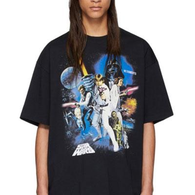 [UNISEX] フォースポスタープリントTシャツ/半袖