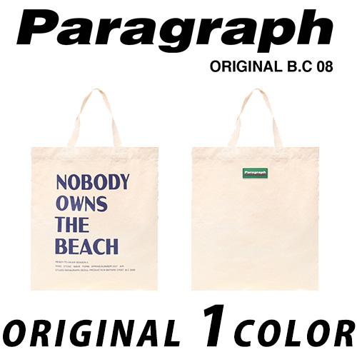 ●正規品● [21SS/Paragraph] ノーボディーエコバッグ/オリジナル/パラグラフ/新着/正規品パラグラフ/ORIGINAL PARAGRAPH