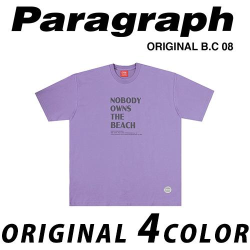 ●正規品● [21SS/Paragraph] ノーボディーTシャツ/半袖/オリジナル/パラグラフ/新着/正規品パラグラフ/ORIGINAL PARAGRAPH
