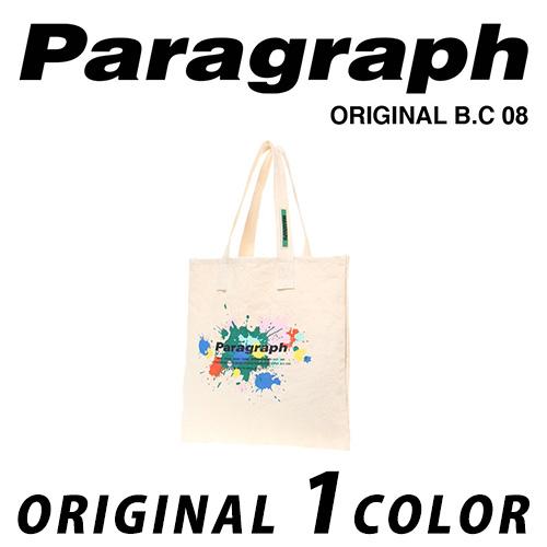 ●正規品● [21SS/Paragraph] ペイントエコバッグ/オリジナル/パラグラフ/新着/正規品パラグラフ/ORIGINAL PARAGRAPH