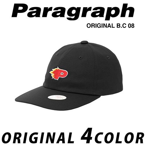 ●正規品● [21SS/Paragraph] P刺繍ボールキャップ/オリジナル/パラグラフ/新着/正規品パラグラフ/ORIGINAL PARAGRAPH