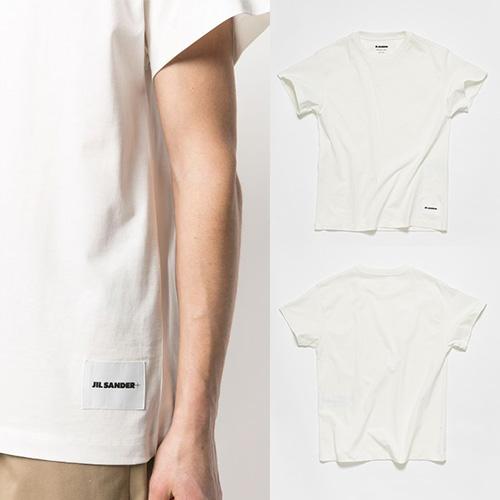 [UNISEX] アンダーパッチTシャツ/半袖 (2color)