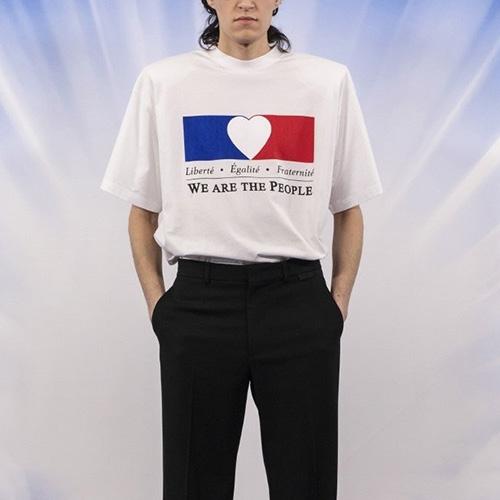 [UNISEX] 私たちは人々Tシャツ/半袖 (2color)