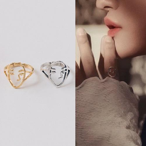[UNISEX] ATEEZ st. フェイスリング/指輪 (2color)