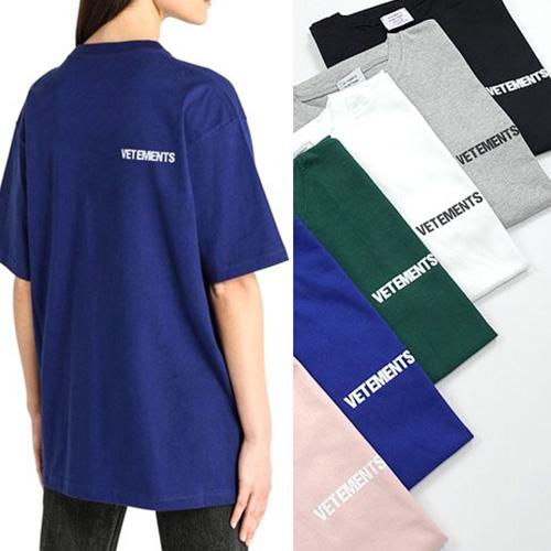 [UNISEX] プッシュロゴTシャツ/半袖 (6color)