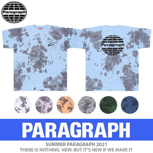 ●正規品●[PARAGRAPH/パラグラフ] マースタイダTシャツ/半袖 (7color)