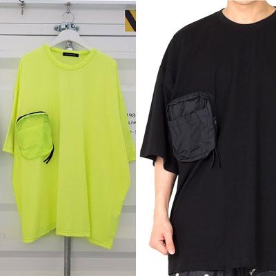 [UNISEX] ポーチポイントTシャツ (2color)