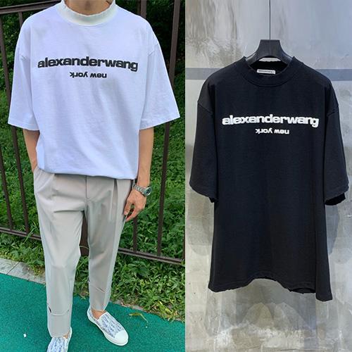 [UNISEX] ニューヨークロゴTシャツ/半袖 (2color)