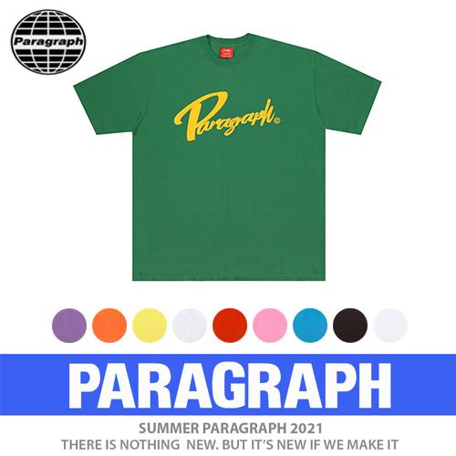 ●正規品●[PARAGRAPH/パラグラフ] ビンテージウォッシュtシャツ/半袖 (10color)