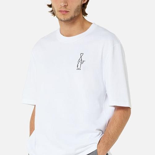 [UNISEX] ハートボーイハッピーTシャツ/半袖