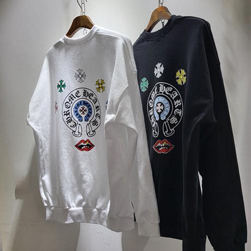 [UNISEX] ビビッドスウェットシャツ (2color)