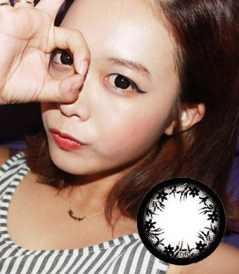 【Yearly / 2 Lenses】 Jennet Black (OA1)  /124