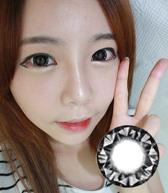 VASSEN Kitty Kawaii Diamond 3 tone Gray 15mm /026