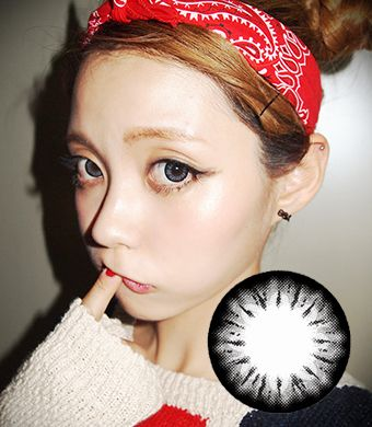 【Yearly / 2 Lenses】 BELLA Gray  /221