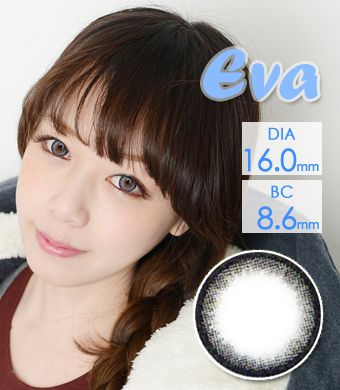 【 Yearly / 2 Lenses】 VASSEN Eva Original EO  Gray/16mm  /615
