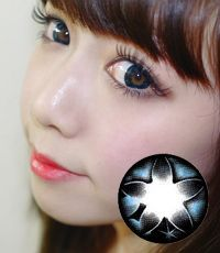 【Yearly / 2 Lenses】 Secret big star CF Blue /074