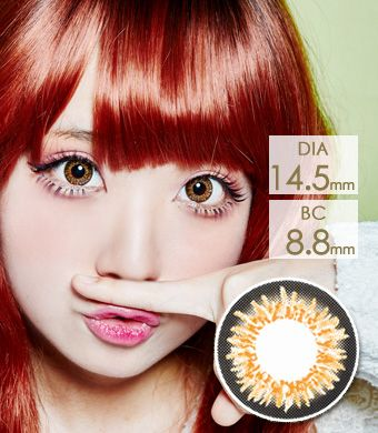 【Yearly / 2 Lenses】 COCO 3-Tone Color Brown /151