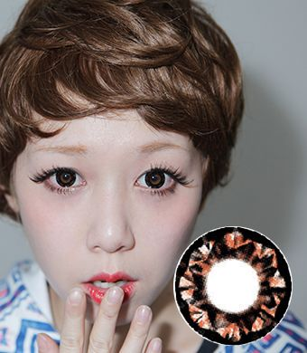 【Yearly / 2 Lenses】  PP17 Choco /094