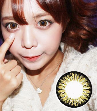 【Yearly / 2 Lenses】 CL21 Brown  /235
