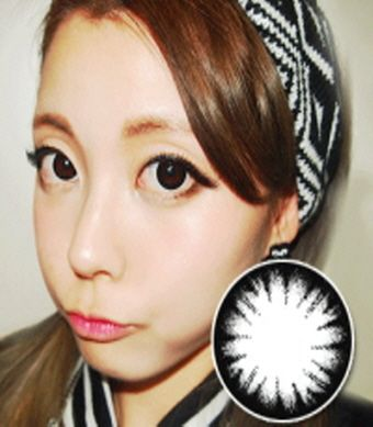 【Toric/6month】 Pure  Black  /255 <br> DIA:14.0mm, G.DIA:13.7mm
