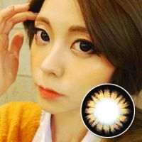 【2 Toric Lenses / 12month】  Pure  Brown / 256  <br>