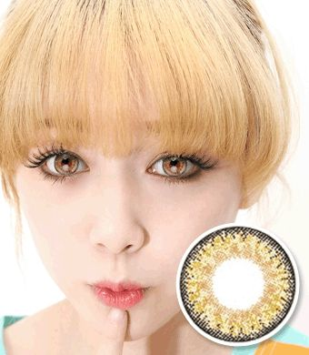 【Yearly / 2 Lenses】 ICK Cherie  Brown  /658