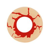 【Cosplay / 2 Lenses】 Funky  Blood shot  /869
