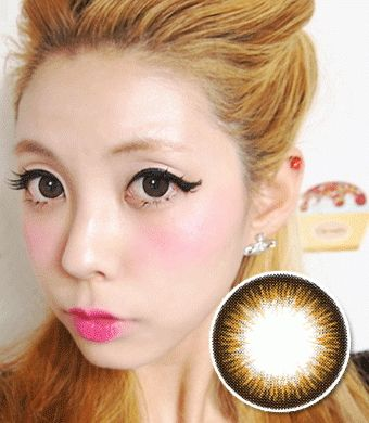 【 Yearly / 2 Lenses】 Bella Brown /1065