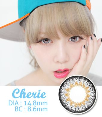 【 Yearly / 2 Lenses】 Cherie Gray / 659