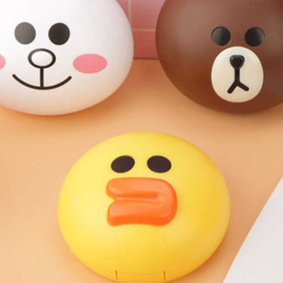 Line Sally Contact Lens Case / 1514