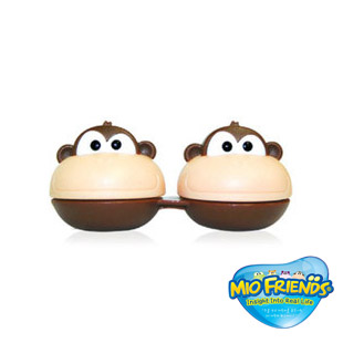 3D Character Monkee Contact Lens Case / 1520