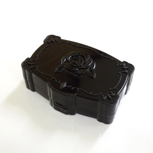 Annasui Black Contact Lens Case / 1529