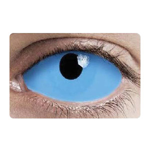 【Cosplay / 2 Lenses】 White Walker Sclera Contacts  2208 / 22mm / 1540
