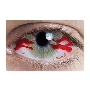 【Cosplay / 2 Lenses】 Devils Vessels Sclera 2205 / 22mm / 1543
