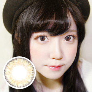 PREMIUM 【2 Toric Lenses /12month】 YEJI Brown /1626 </br>