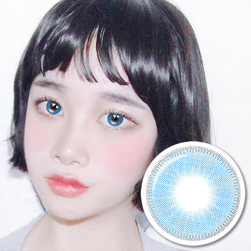 NEW【UV Blocking・PREMIUM 】【3 Months / 2 Lenses】 INNO Amor Blue / 1676