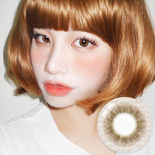 NEW【UV Blocking・PREMIUM 】【3 Months / 2 Lenses】 INNO Elite II 3-tone Brown / 1681