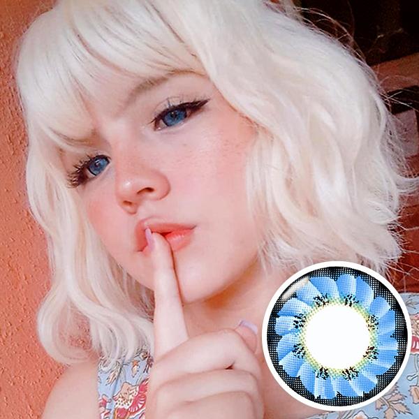 【 Yearly / 2 Lenses】 Caroline Blue / 1218
