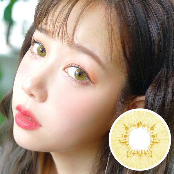 PREMIUM  【3 Months / 2 Lenses】 Innovision / Natural Hazel/ 1451