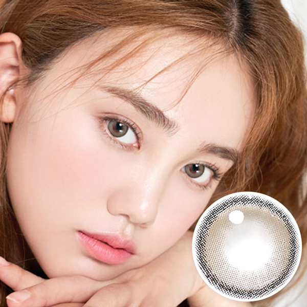 【I-Dol Lens/ 1month】 ROZE AIRY Nude Brown /1605